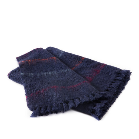 midnight stripes blue knee blanket kid mohair silk throws shop bohicket. Black Bedroom Furniture Sets. Home Design Ideas