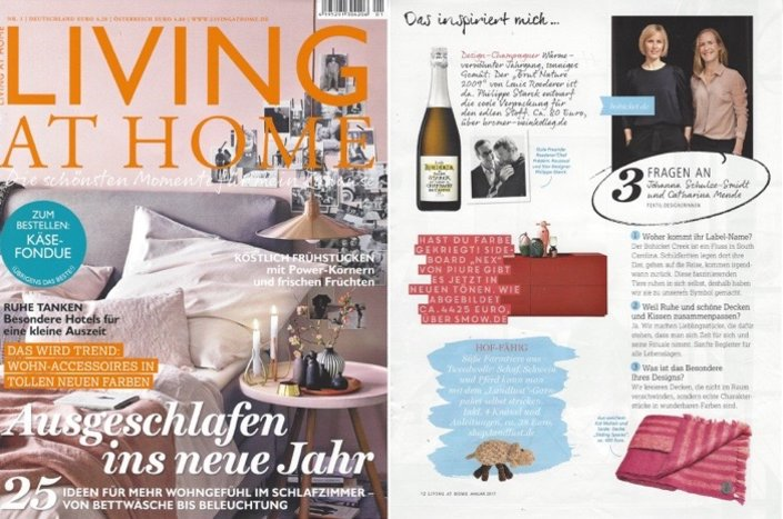 Bohicket in der Living at Home 01/2017