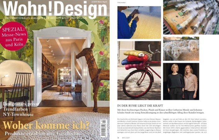Bohicket in der Wohn!Design 03/2017