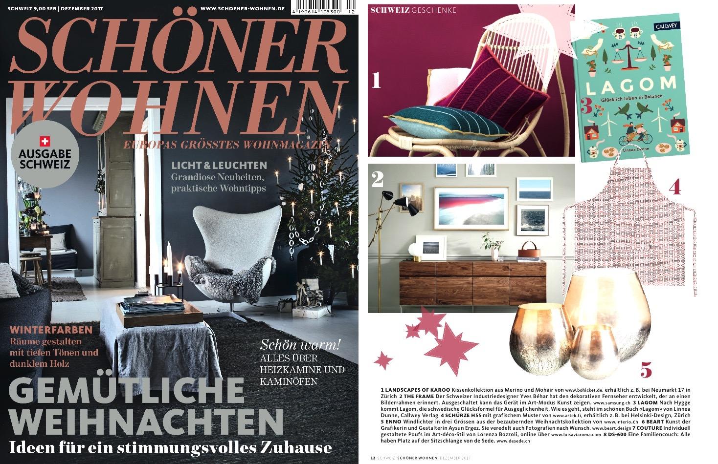Schöner Wohnen Schweiz bohicket in the press bohicket