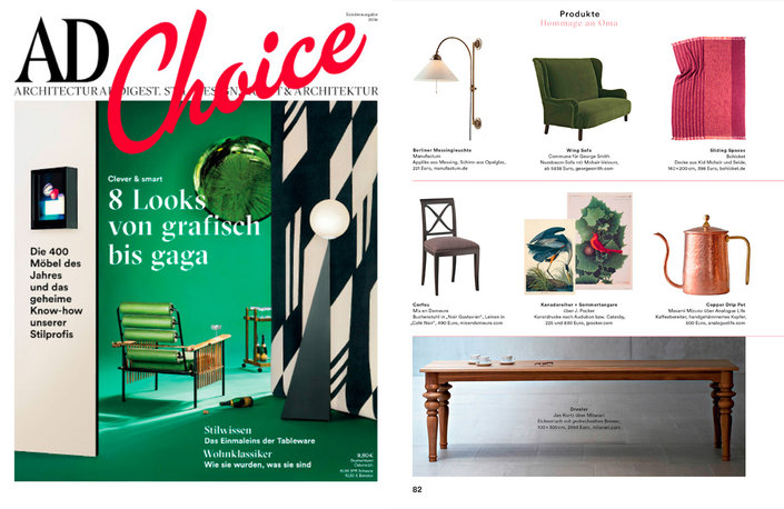 Bohicket in der AD Choice 06/2016