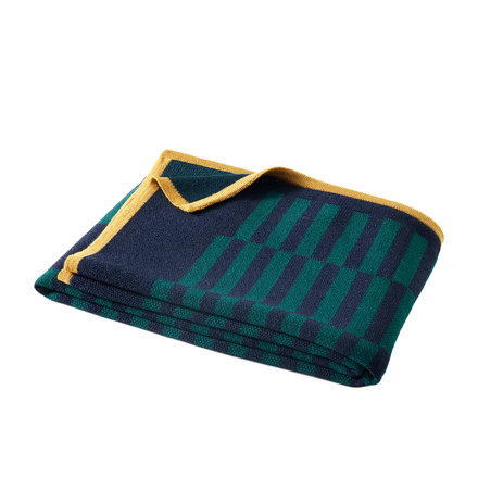 Bohicket Merino Plaid Wolldecke