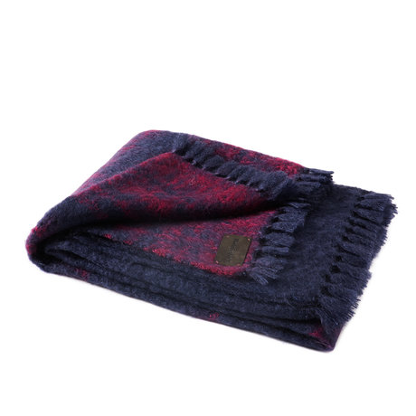 Bohicket Mohair Plaid Wolldecke