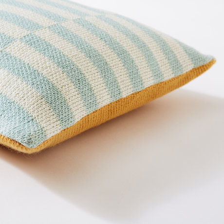 Bohicket cushion - Misty Sandstone - Merino & Kid Mohair