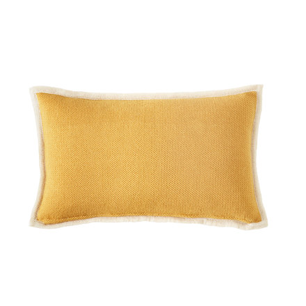 Bohicket stripe cushion - Golden Shadow - Merino & Kid Mohair