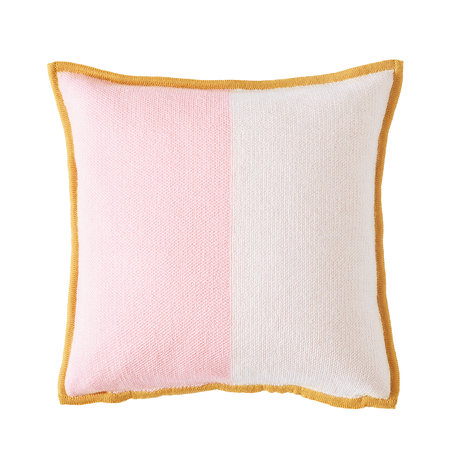 Bohicket cushion - Pink Sunbeam - Merino & Kid Mohair