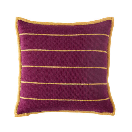 Bohicket stripe cushion - Golden Stripes - Merino & Kid Mohair