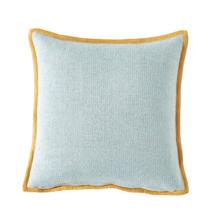 Bohicket stripe cushion - Misty Stripes - Merino & Kid Mohair
